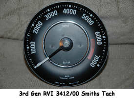 VolvoSolutions com Volvo 1800 Tach Upgrade Page Part I